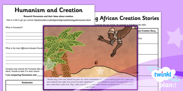 RE: Creation Stories Year 6 Home Learning