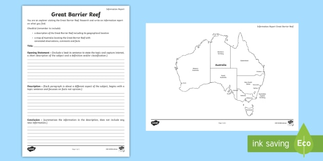 Australian States And Territories Great Barrier Reef