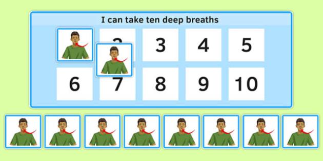 KS3 I Can Take Ten Breaths - ks3, I can take ten breaths, breath, take, breathe, sen