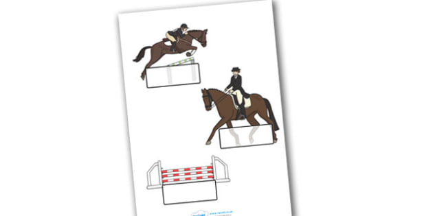 The Olympics Equestrian Self Registration - Equestrian, Olympics, Olympic Games, sports, Olympic, London, 2012, Self registration, register, editable, labels, registration, child name label, printable labels, activity, Olympic torch, events, flag, co