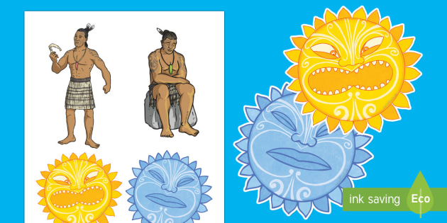 Māui and the Sun Stick Puppets