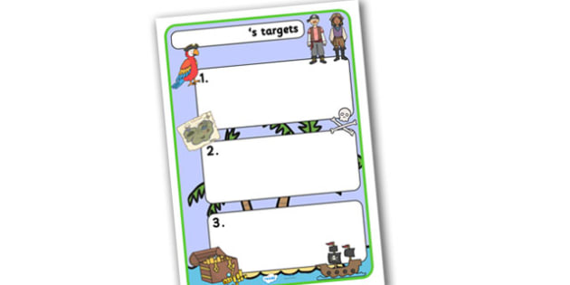 Themed Target Sheets Pirates - Target Sheets, Themed Target Sheets, Pirate Target Sheets, Pirate Themed, Pirate Themed Target Sheets