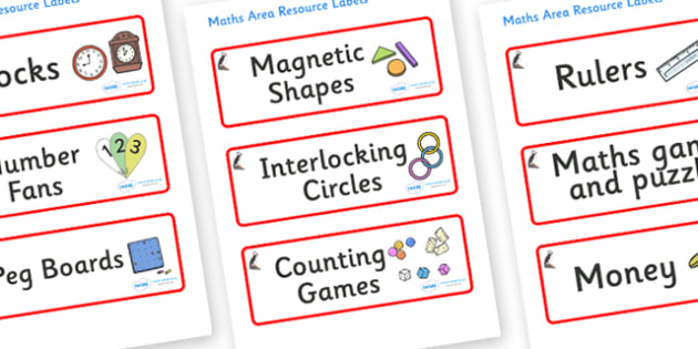 Puffin Themed Editable Maths Area Resource Labels - Themed maths resource labels, maths area resources, Label template, Resource Label, Name Labels, Editable Labels, Drawer Labels, KS1 Labels, Foundation Labels, Foundation Stage Labels, Teaching Labe