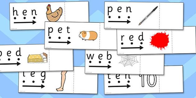 CVC Words e Read and Reveal - read, reveal, words, cvc, letter, e