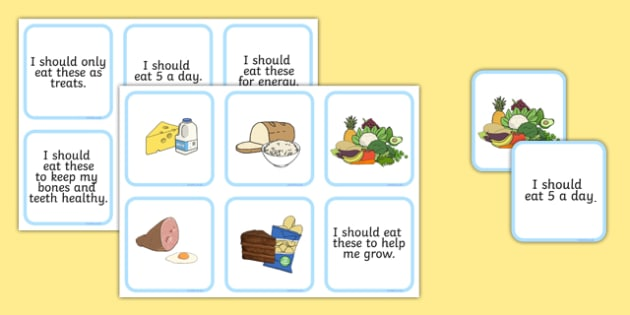 Food Group Matching Cards - healthy eating, food, food matching cards, food groups, food groups matching, food group cards, food group matching activity