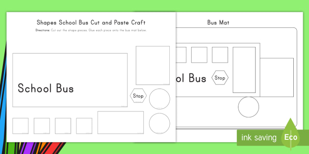 us t shapes bus cut and paste activity ver 3