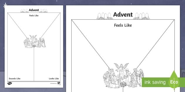 Advent Y Chart Worksheet Teacher Made