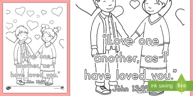 NEW John 1334 Preschool Coloring Page