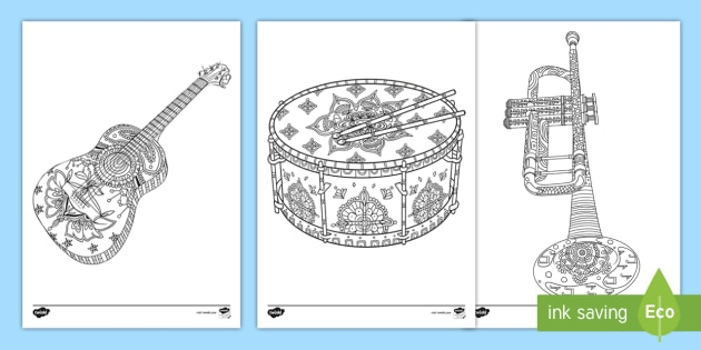 Percussion Instruments Line Puzzles | Percussion, Percussion ... | 315x630