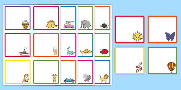 Mixed Images Themed Gratnells Peg Labels - Mixed Images Themed Peg Name Labels - peg labels, editable, lebels, labeles, editble, avery tray lab