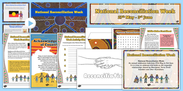 Top 10 Reconciliation Week Resource Pack