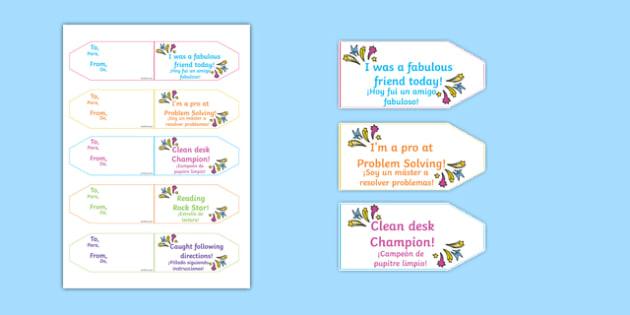 Achievement Brag Tags Spanish Translation - spanish, achievement, brag tags, brag, tag, award, reward, collect, effort