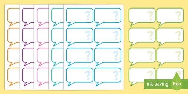 AF Guided Reading Blank Question Cards - assessment focus, assessment focus reading, reading, assessment focus cards, editable assessment focus cards, AF
