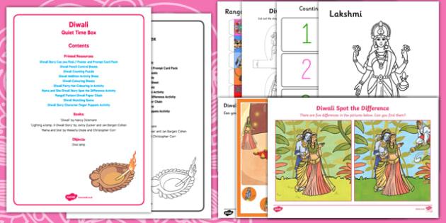 Diwali Quiet Time Box