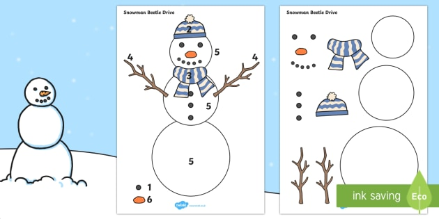 beetle drive snowman the snowman beetle drive winter. Black Bedroom Furniture Sets. Home Design Ideas