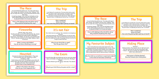 Inference Challenge Cards Inference Challenge Cards Literacy