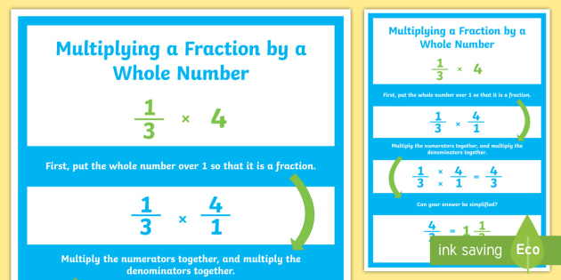 Fractions Multiplying and Dividing Fractions Teaching