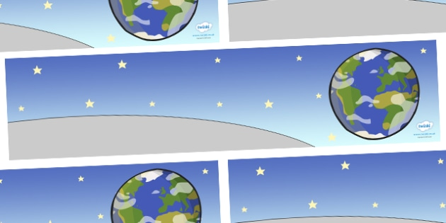 Small Background to Support Teaching on Aliens Love Underpants - aliens, woolly, long johns, space ship, underpants,  Claire Freedman, backdrop, background, scenery, small world area, small world display, small world resources, story book, book, book
