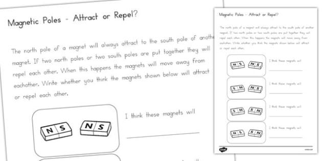 Magnet Poles Attract or Repel - australia, magnet, poles, attract