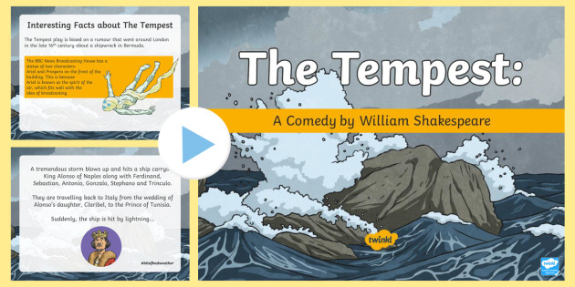 a plot summary of the story of the tempest The tempest: printable plot summary worksheet this simple, printable worksheet contains a complete plot summary or synopsis of the tempest by william shakespeare it could be used as an introduction to the events of the play, or as a revision tool, for students who are preparing for exams and controlled assessments.
