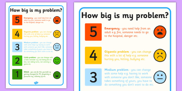 How Big Is My Problem Colour Code - colour, code, problem, big