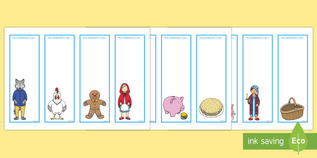 Editable Bookmarks to Support Teaching on Mr Wolf's Pancakes - mr wolfs pancakes, stories