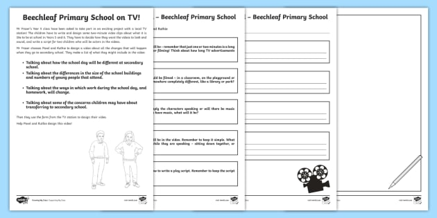UKS2 Beechleaf Activities: Secondary School Transition ...