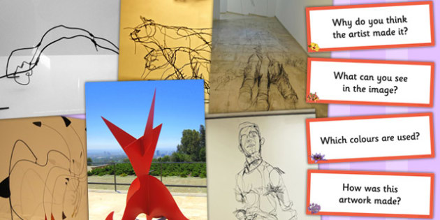 Alexander Calder and David Oliveira Photopack and Prompt Question