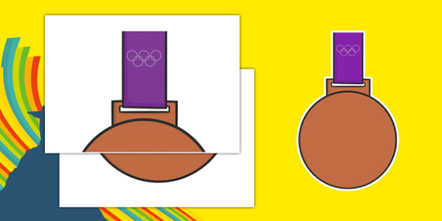 Olympic Display Bronze Medal - usa, america, olympics, 2016 olympics, rio 2016, rio olympics, display, bronze medal