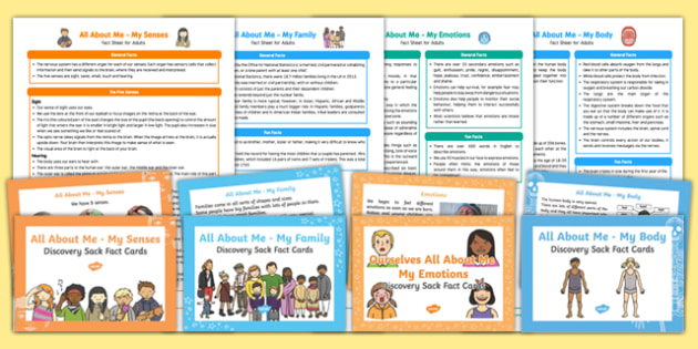 All About Me Ourselves Discovery Sacks Pack - Early Years, KS1, all about me, ourselves, discovery sacks