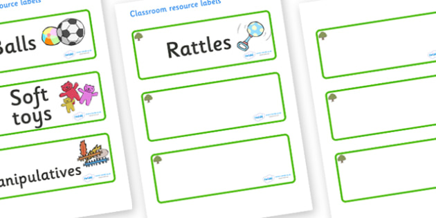 Oak Tree Themed Editable Additional Resource Labels - Themed Label template, Resource Label, Name Labels, Editable Labels, Drawer Labels, KS1 Labels, Foundation Labels, Foundation Stage Labels, Teaching Labels, Resource Labels, Tray Labels, Printable