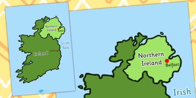 Of ireland map ireland countries dublin belfast north map of ireland map ireland countries dublin belfast north gumiabroncs Images