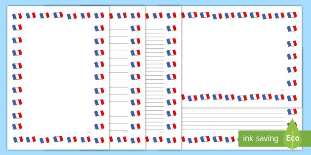 french flag page borders french flag page borders borders