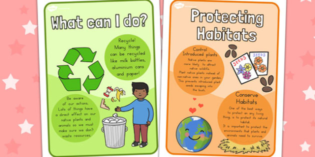 Protecting Habitats Posters - Protect, Natura, Habitat, Creatures