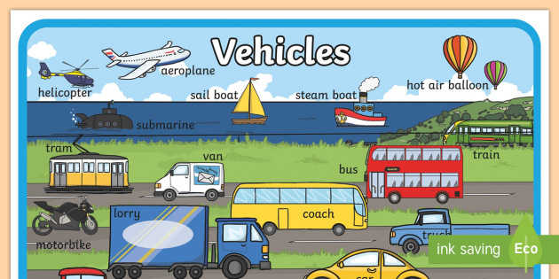 Large Transport Display Poster - transport, display, poster
