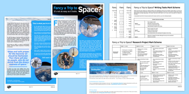 Fancy a Trip to Space? Resource Pack - fancy a trip, to space, resource pack, trip, space, trip to space