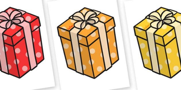Christmas A4 Presents Editable  - christmas, presents, xmas