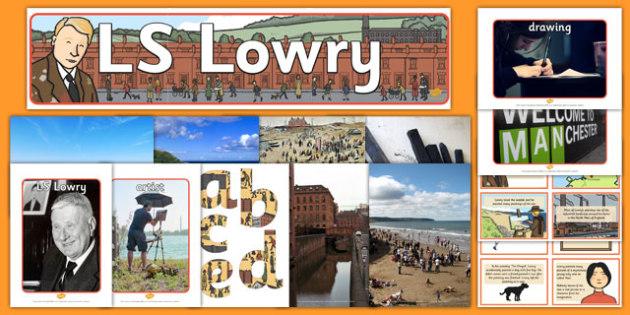 LS Lowry Artist Inspiration