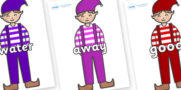 Next 200 Common Words on Elf (Boy) - Next 200 Common Words on  - DfES Letters and Sounds, Letters and Sounds, Letters and sounds words, Common words, 200 common words