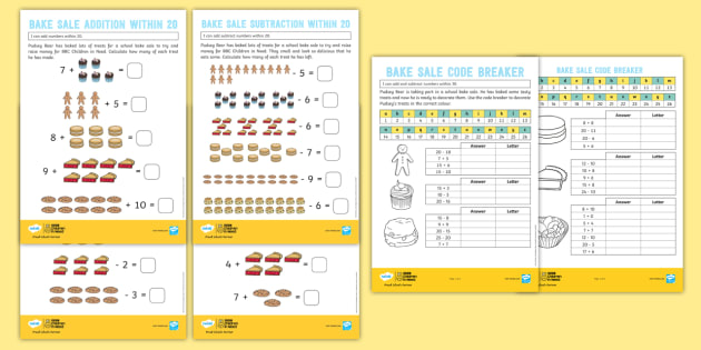 FREE! - *NEW* KS1 BBC Children in Need Addition and Subtraction Maths
