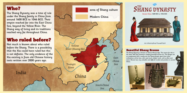 Shang Dynasty Information PowerPoint - shang dynasty ...