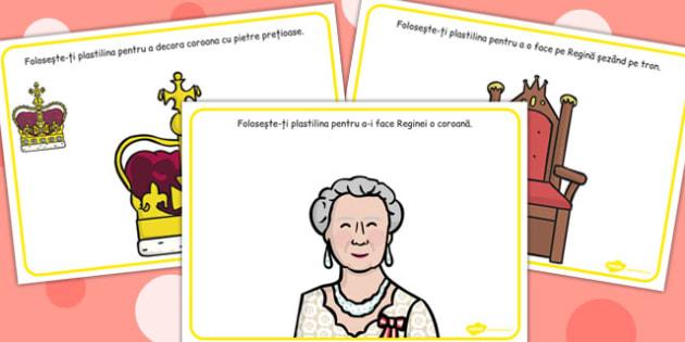Jubileul Reginei Angliei - Planșetă pentru modelajul cu plastilină