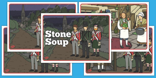 Stone Soup Story Sequencing - stone soup, story, sequencing