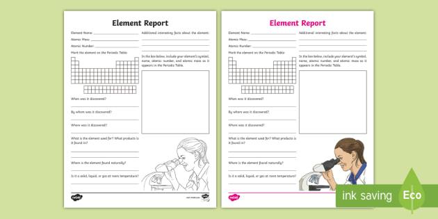 * NEW * Element Report