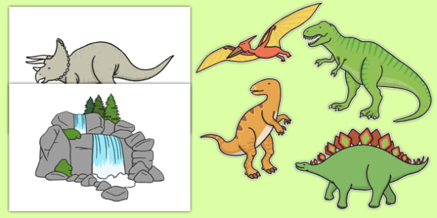 Dinosaur Themed Wall Decals - dinosaur, wall decals, display, wall display