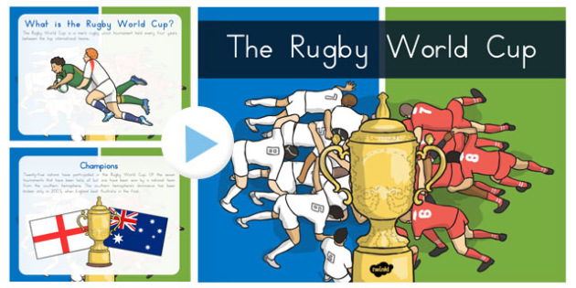 014 Rugby World Cup Information PowerPoint - PE, australia, presentation, facts, sport, international