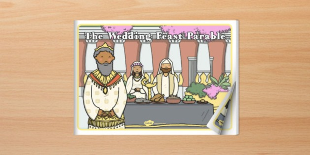The Wedding Feast Parable eBook - parables, ebook, wedding feast