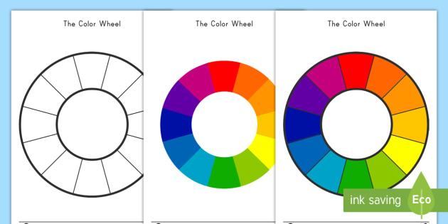Color Wheel Color Mixing Activity Teacher Made