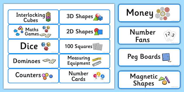 Maths Resource Editable Labels Blue - maths, resource, editable, labels, blue
