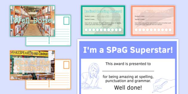 English Awards Resource Pack